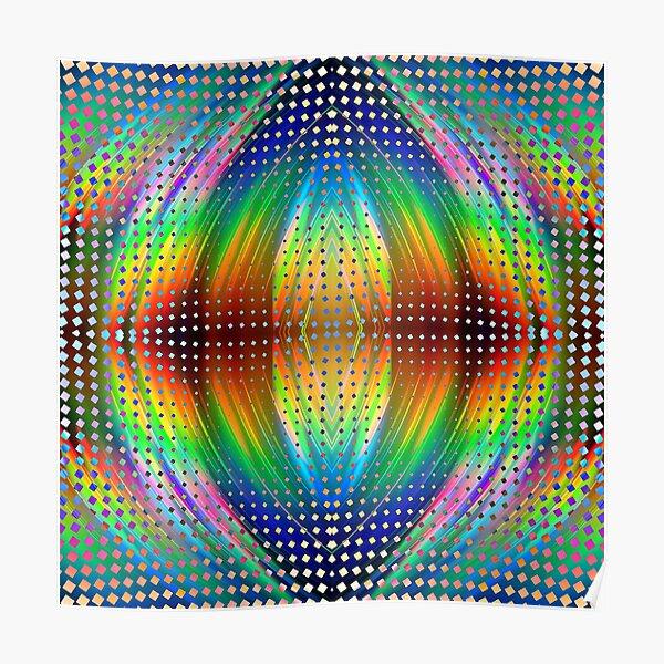 Trippy Pattern Poster