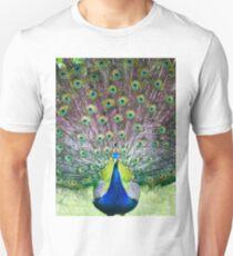 Peacock display T-Shirt