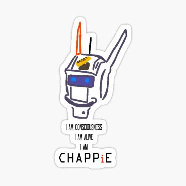 Chappie's Consciousness Sticker