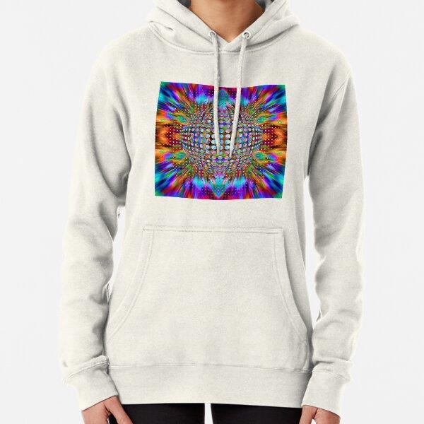Trippy Pattern Pullover Hoodie
