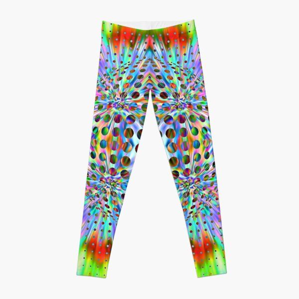 Trippy Pattern Leggings