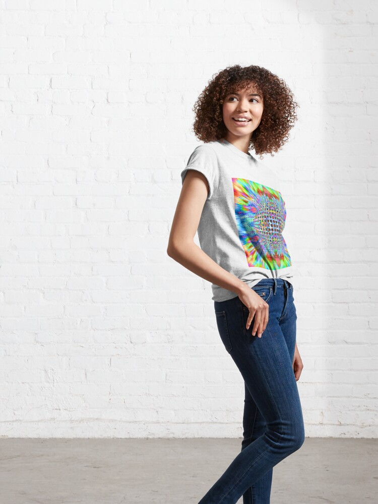 Alternate view of Trippy Pattern Classic T-Shirt