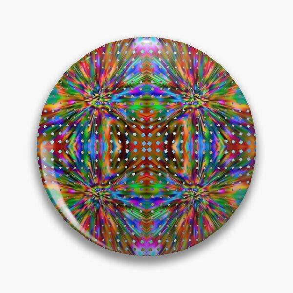 Trippy Pattern Pin