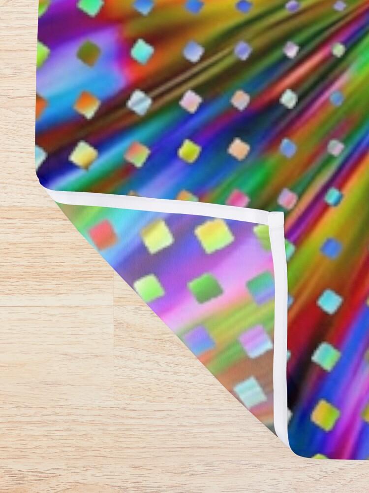 Alternate view of Trippy Pattern Shower Curtain