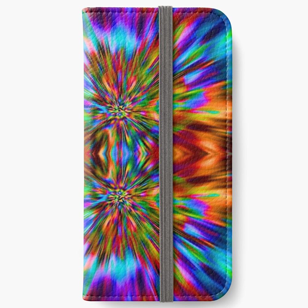 Trippy Pattern iPhone Wallet