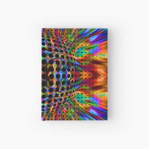 Trippy Pattern Hardcover Journal