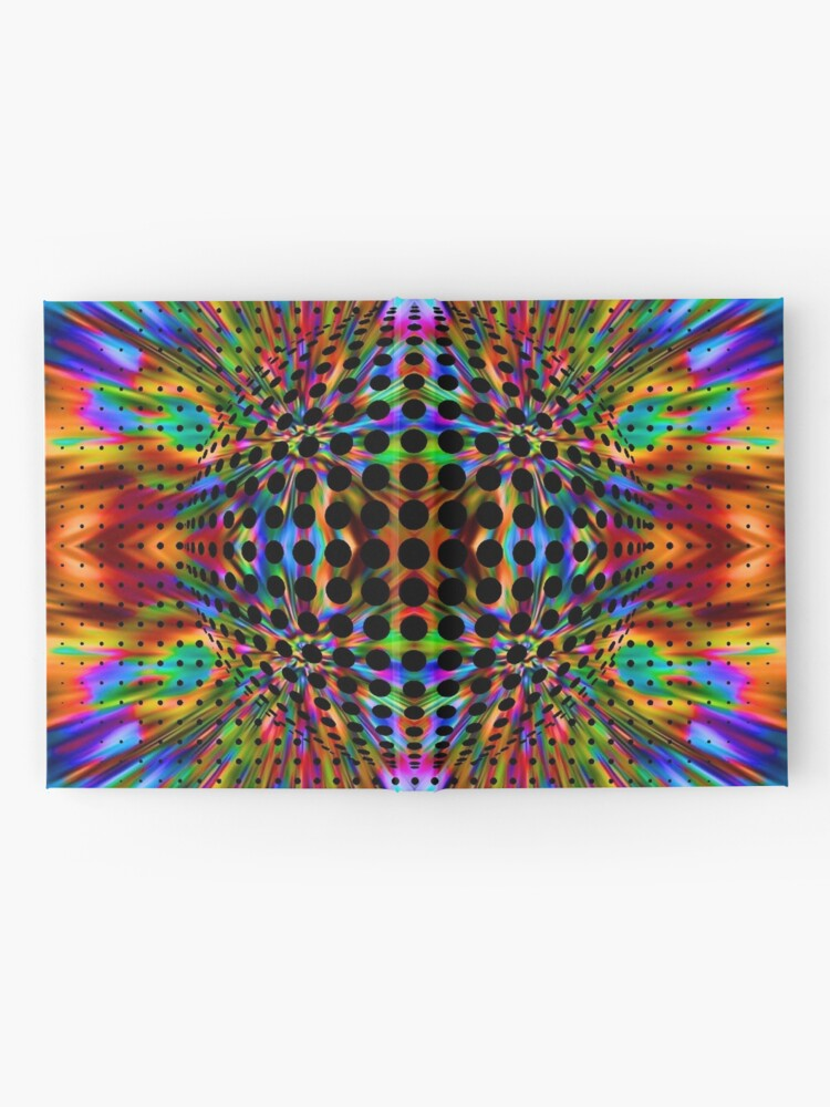 Alternate view of Trippy Pattern Hardcover Journal