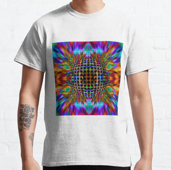 Trippy Pattern Classic T-Shirt