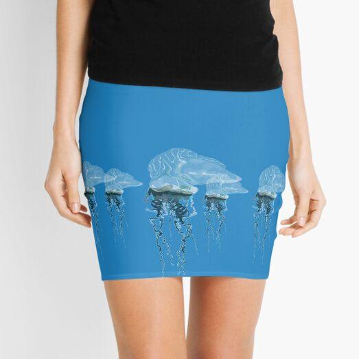 Flock 'o Man 'o War Mini Skirt