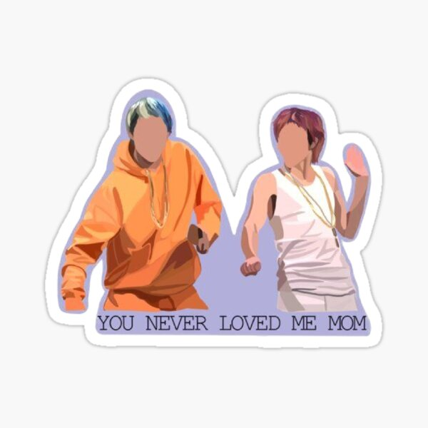 Pete Davidson and Timothee Chalamet Sticker