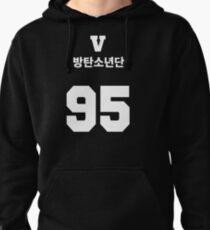 BTS - V Jersey Style Sweat à capuche