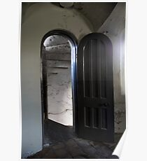 Penrhyn Castle- Ice room door Poster