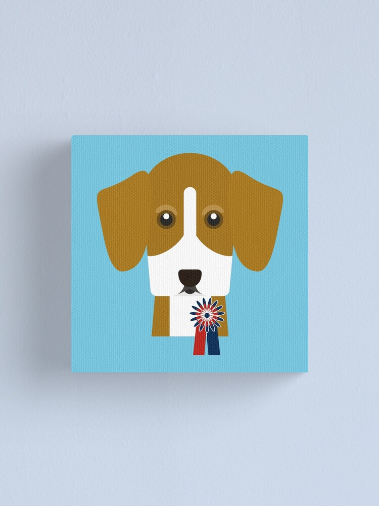 Alternate view of Champion Beagle Canvas Print