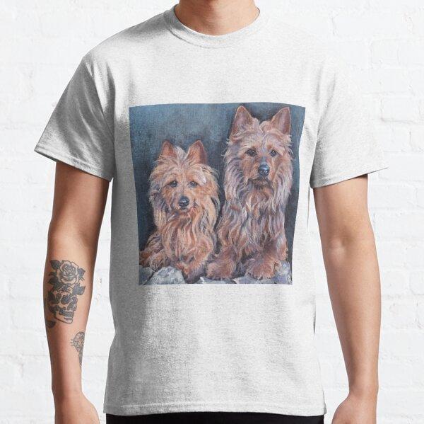 australian Terrier Fine Art Painting Classic T-Shirt