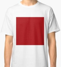 Bright Red Classic T-Shirt