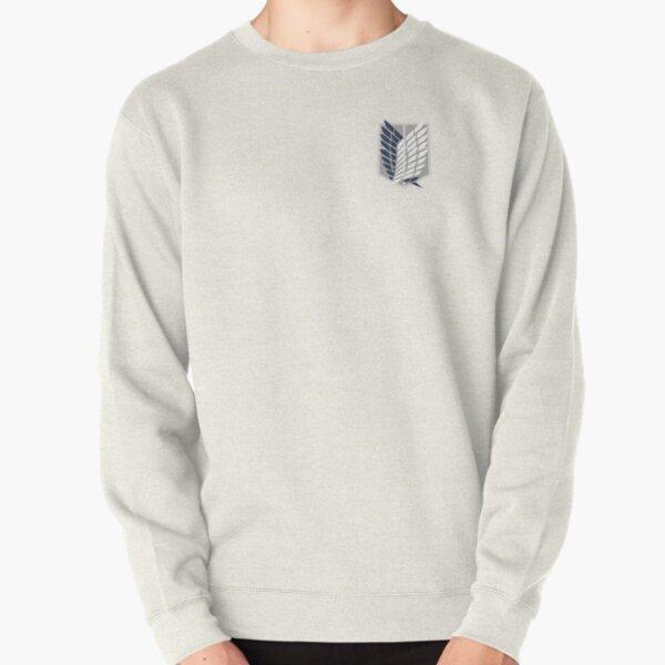 Bataillon d'exploration Corps de reconnaissance attaque des titans snk logo Sweatshirt épais
