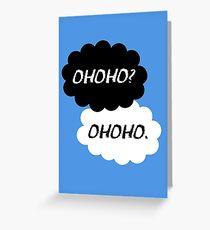 Haikyuu!! - Ohoho? Ohoho. Greeting Card