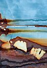 Rocks on the Beach by Barbara Ingersoll