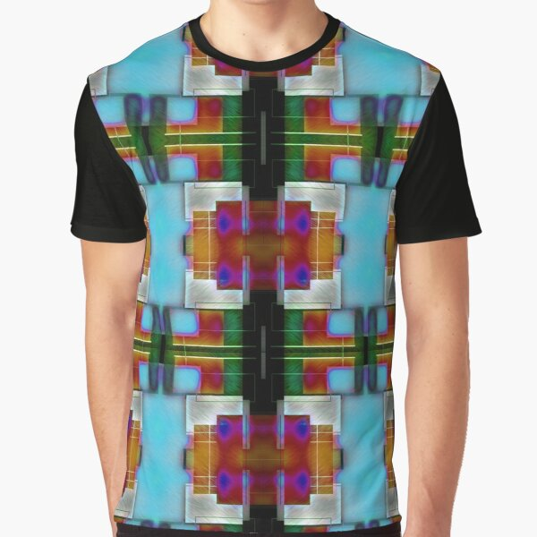 Square Colors Graphic T-Shirt