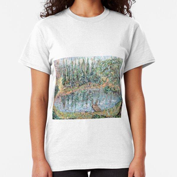 Fishing in the Summer Rain Classic T-Shirt