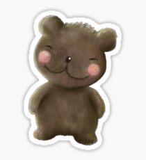 Wee Teddy Sticker