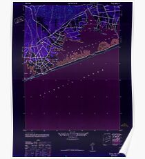 New York NY Quogue 136001 1947 24000 Inverted Poster