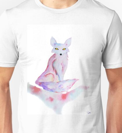 Dream Fox - Watercolor Spirit Animal T-Shirt