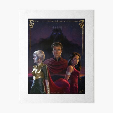 An ember in the ashes Art Board Print