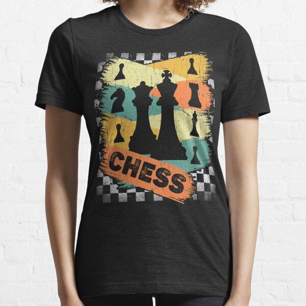 Vintage Retro Chess Essential T-Shirt
