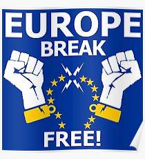 Europe Break Free! Poster