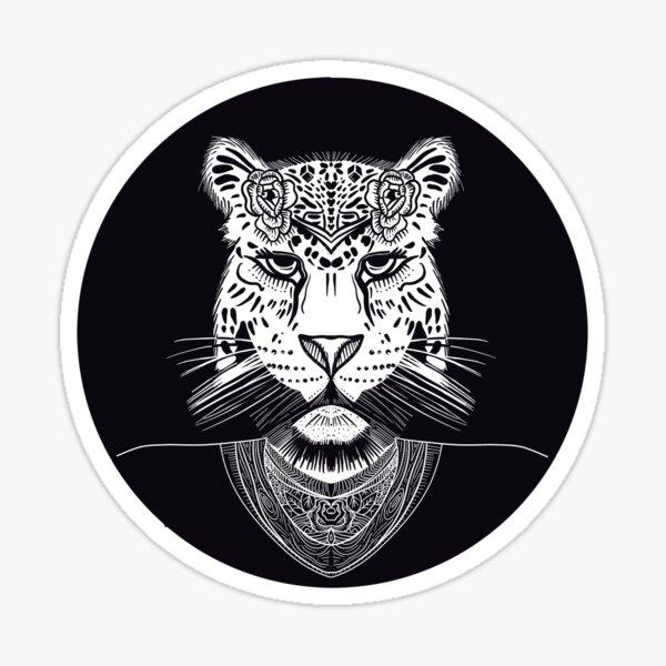 Mrs. Tiger. Sticker