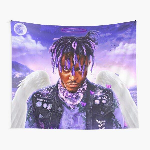 JUICE WRLD - Legends Never Die / Angel Tribute Art Tapestry