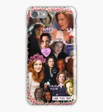 X-files Dana Scully - Collage Part 2 iPhone Case/Skin