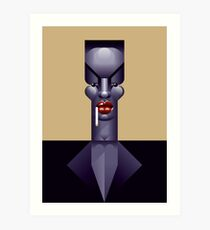 Grace Jones (Nightclubbing) Art Print
