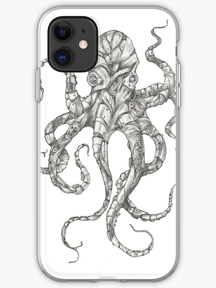 cover octopus iphone