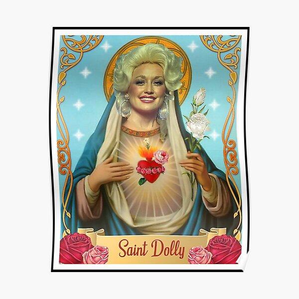 saint dolly parton Poster