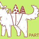 Party Dog by saracapello