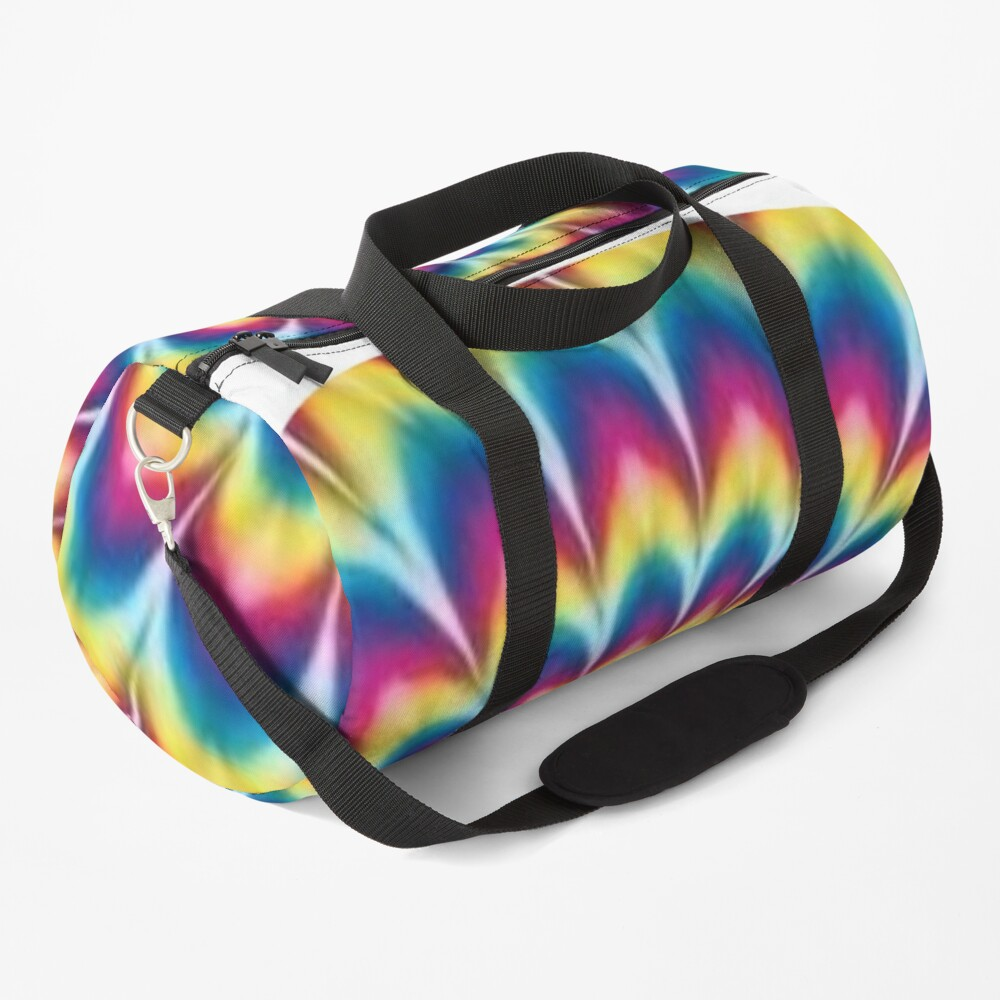 Psychedelic Art, ur,duffle_bag_small_front,square,1000x1000