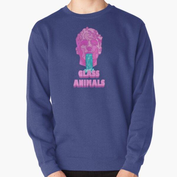 Glass Animals Soda Waterfalls (Head and Logo) Pullover Sweatshirt