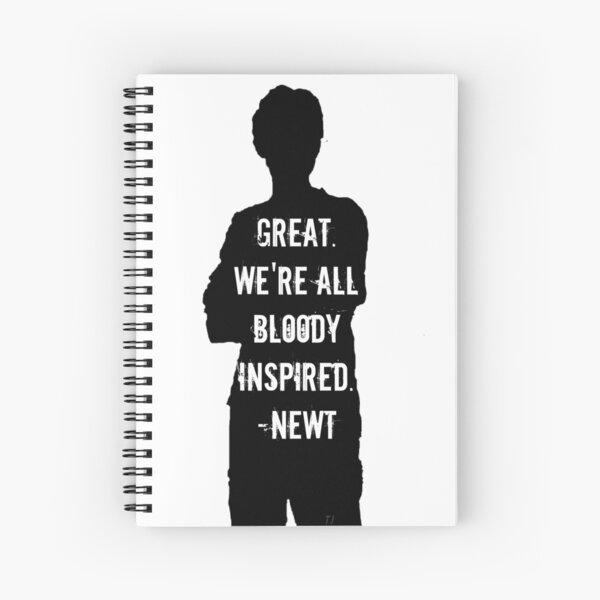 Bloody Inspired Spiral Notebook