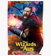 The Wizards of Aus ~ Skulldrich Poster Poster