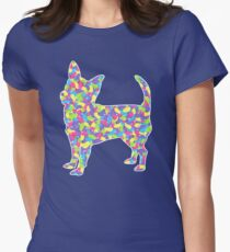 Chihuahua, Easter Jellybeans Womens Fitted T-Shirt