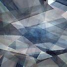Digital Layered Star by Linda J Armstrong