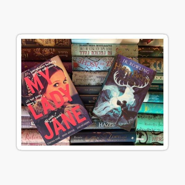 Bookspines Sticker