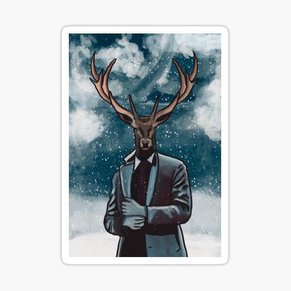 deer men Sticker