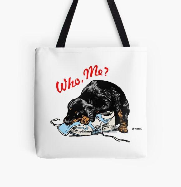 """Who, Me?"" All Over Print Tote Bag"