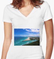 Burleigh Women's Fitted V-Neck T-Shirt