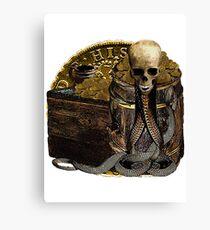 The Venomous Nature Of Gold Canvas Print