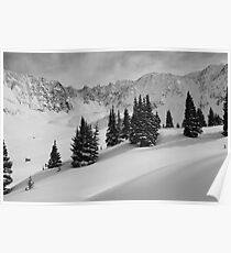 Mayflower Gulch Monochrome Poster