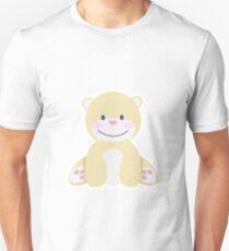 Little pretty polar bear in iceberg Unisex T-Shirt